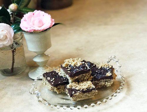 Healthy Chocolate Sea Salt Bars